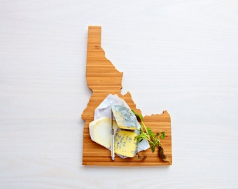 Idaho State Cutting Board,Father's Day Gift,   Unique Wedding Gift, Personalized Gift, Summer Wedding GIft, Graduation Gift
