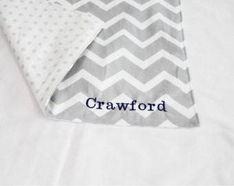 Personalized Waterproof Changing Pad - You Pick the Fabric - pick from 4 sizes