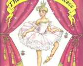 Your Girls Personalized Ballerina Princess Gift Book Ships PRIORITY MAIL in 24 hours  Now available in 5 other languages