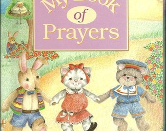 Your Personalized Children's Religious My Book Of Prayers Gift Book Ships PRIORITY MAIL  in 24 hours Also available in Spanish