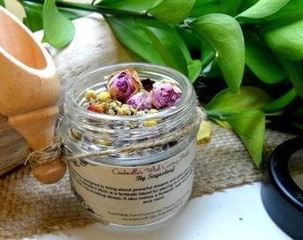 Bath Tea, Cinderellas Wish, Dream Magic, Herbal Remedy, Dried Herbs, Bath Soak, Wishes Dreams Success,