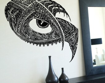 Vinyl Wall Decal Sticker Abstract Eye Design 5258m