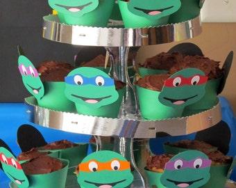 Teenage Mutant Ninja Turtle Cupcake wrapper