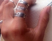 CUSTOM ORDER for Joyce only, Sterling Silver ring