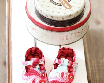 no 041 Jordan Baby T-Strap Shoes PDF Pattern