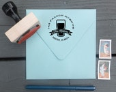 Craft Beer Custom Return Address Stamp - Personalized for Beer Lovers,  and Brewers