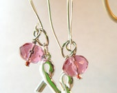 ittybitty HOPE Charms Earrings with Cause Ribbons