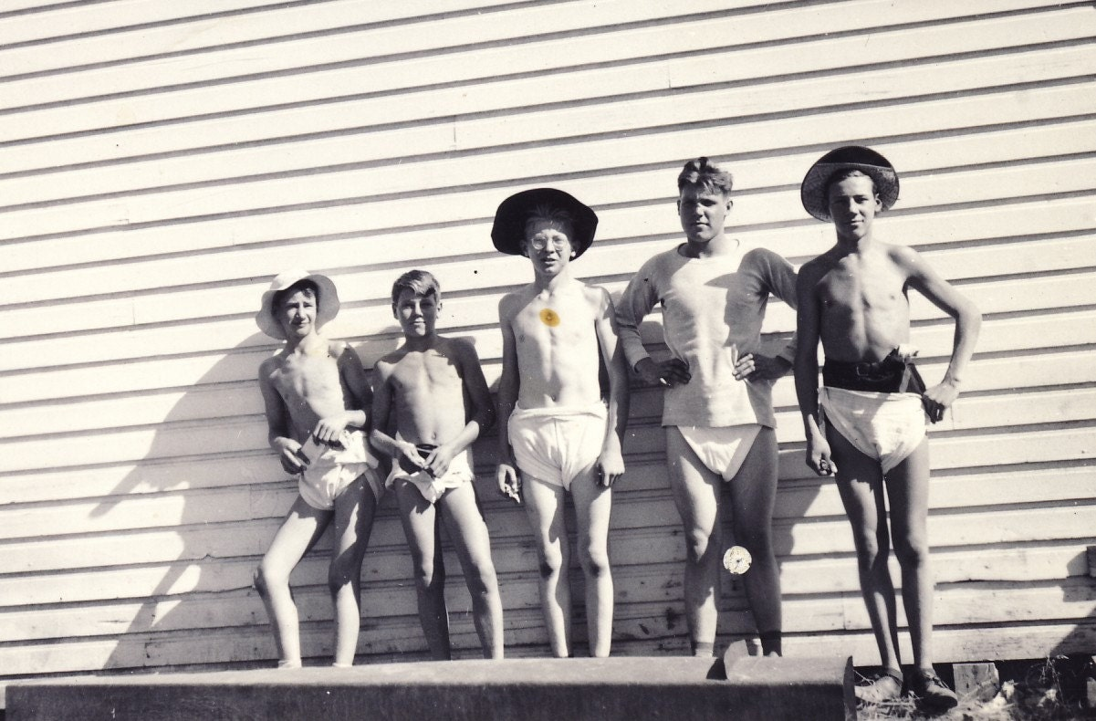 These Boys Are Way Too Old to Be WEARING DIAPERS in Fun Photo