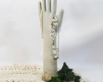 Glove Mold, Porcelain, Vintage