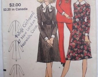 Vintage Vogue Sewing Pattern - Misses Petite A-Line Dress, Tunic and Pants - Vogue 8161 - Size 12MP, Bust 34, Uncut