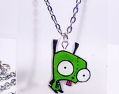 Gir from invader zim necklace