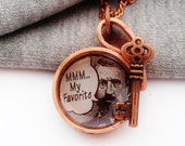 Copper Upcycled Bottle Cap Necklace by Absolute Jewelry