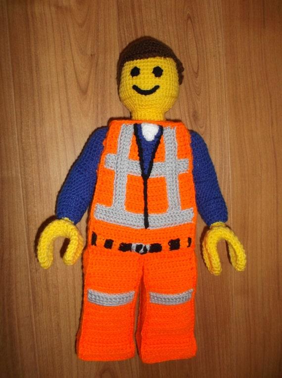 Emmet Awesome Lego Movie Style Construction Man Crochet