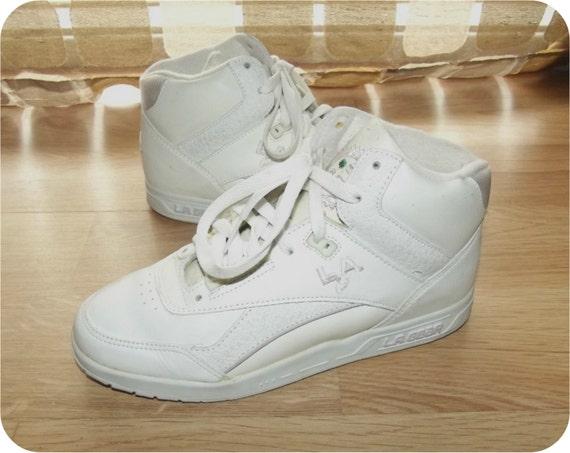 Vintage La Gear Basketball Shoes