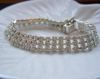 Napier Rhinestone Bracelet - Beautiful!