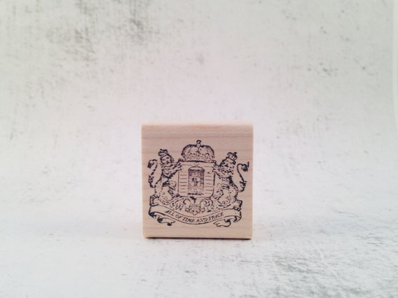 The Whovian Royal Crest Stamp