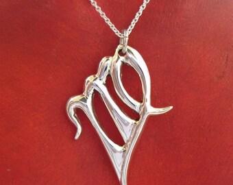 virgo jewelry zodiac jewelry summer jewelry zodiac symbol handmade virgo necklace sterling silver unique creation modern design fine jewelry
