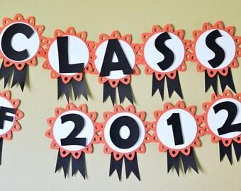 Graduation Banner - Party Decorations - CUSTOM COLORS