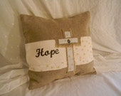 Hope of the Cross Throw Pillow Cover