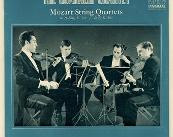 The Guarneri Quartet Perform Mozart String Quartets Vintage Vinyl Record Album RCA Victor Red Seal Monaural LP