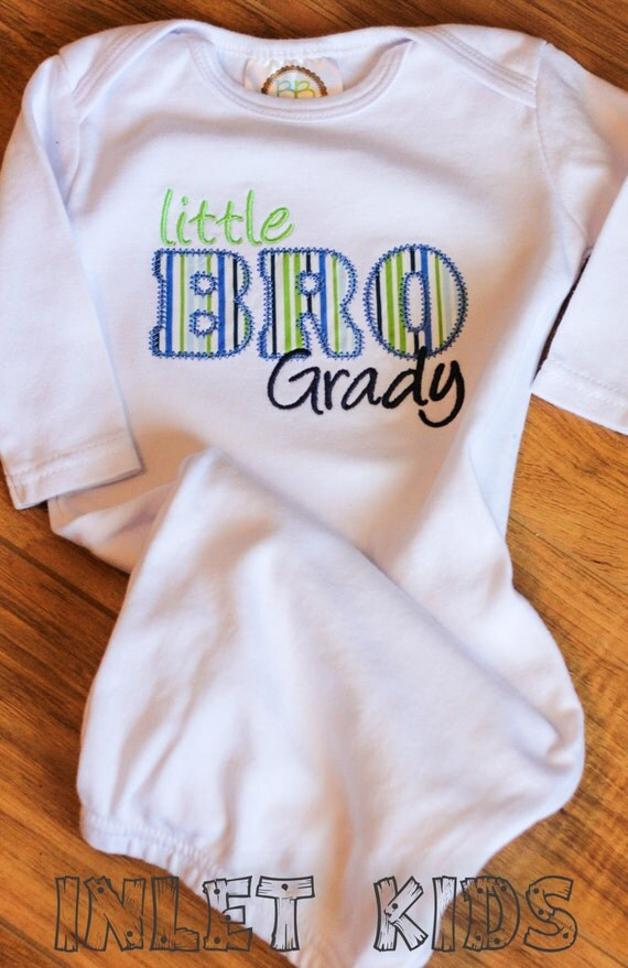 Little Brother Baby Gown