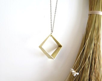 Square Prism Necklace
