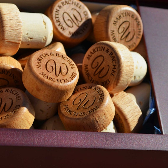 Wedding Wine Stopper Gift Personalized By Personalizedgallery