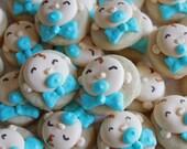 5 dozen Baby Boy face Mini Cookie NIbbles