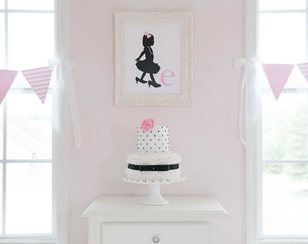 Little Miss Collection: Printable Silhouette