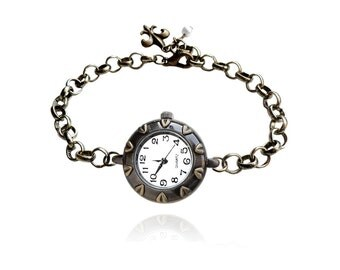Get 15% OFF - Handmande Antique Bronze Quartz Watch Bracelet - Mother's Day SALE 2017