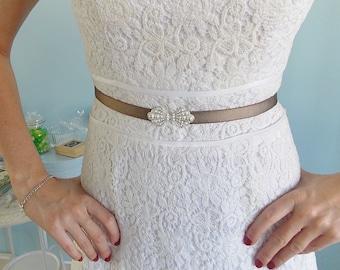 Bridal Belt, Wedding sash, dress Belt, Wedding gown belt, wedding belt, Bridesmaid Belt, Bridal Accessories, Stretch Belt, Sash Belt