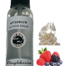 Afterglow™ Lotion Spray - Dingleberries & Cum (berry cream) Natural Vegan Skin Care Scented Body Moisturizer Paraben Free w/ Aloe by Eat Me