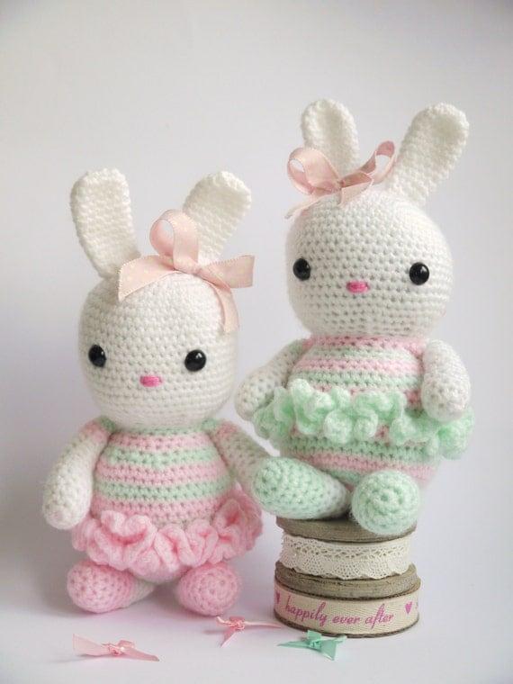 Large Amigurumi Crochet Bunny. Lovely New baby by kinderkraft