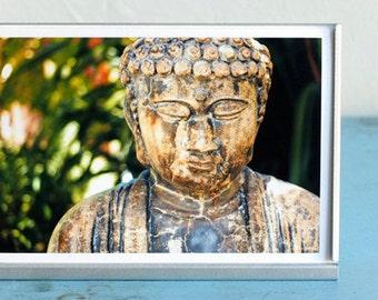 Buddha Photo Print, Buddha Statue, Peaceful Photo, Zen Art, Zen Photography, Meditation Art, Spiritual Wall Art, Buddhism Art, Yoga Decor