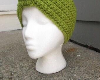 Turban Headband, Crochet Headband, Ear warmer