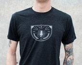 Cat Badge Shirt large unisex