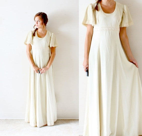 Vintage Hippie Chic Dresses Wedding Vintage Wedding Dress shabby
