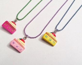 Sale! Piece of cake Necklace