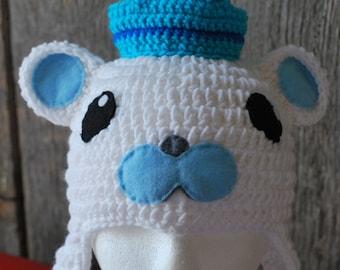 Octonauts Crochet Earflap Hat