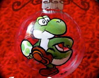 Custom character ornament