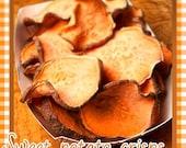 Sweet Potato Crisps - All Natural Dog Treat, dehydrated sweet potato