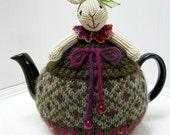 RESERVED FOR CONNIE! Bunny Teapot Cozy