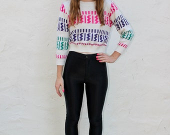 80's Cropped Sweater
