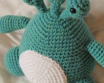 Monster Todd - Amigurumi Plush Crochet PATTERN ONLY (PDF)