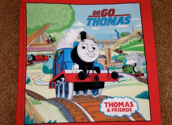 Thomas The Tank Fabric Book By Easingtension On Etsy