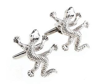 Gecko Cufflinks