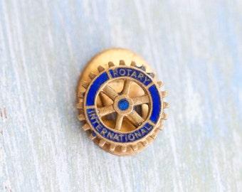 Rotary International Buttonhole badge
