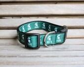 "Michigan State Dog Collar/ 1"" - 1.5"" - 2"" Dog Collars"