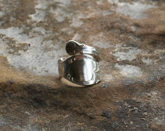 Vintage Spoon Ring Silver Plate 1847 Rogers Bros US