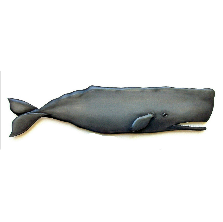 Whale Wall Art sperm whale art sculpture 36in. whale art whale sculpture
